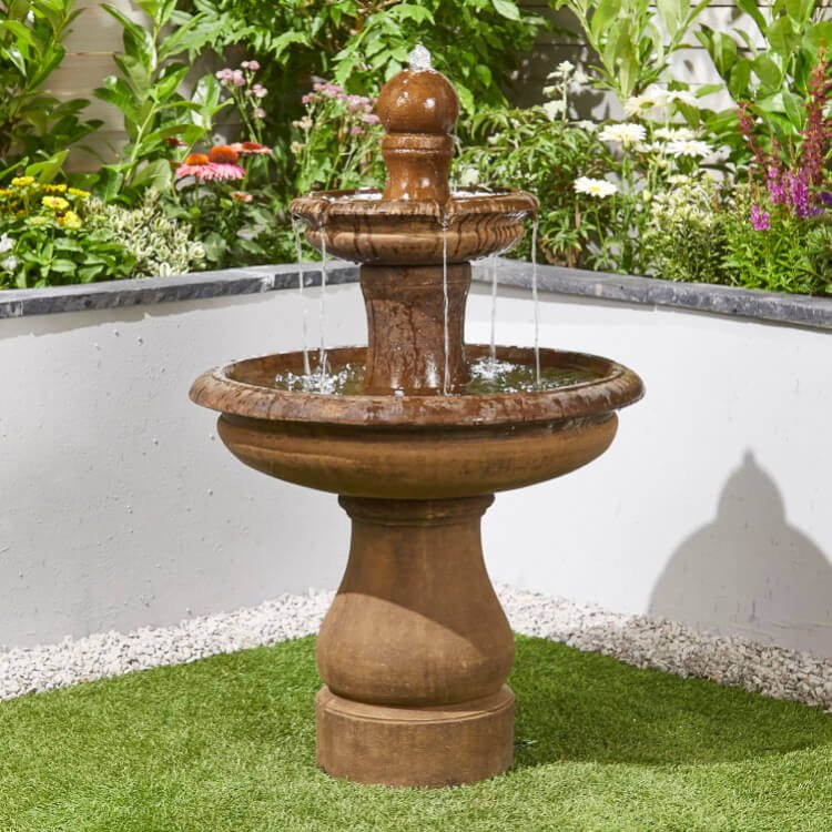 BillyOh Simplicity Outdoor Garden Water Feature with Pump 96.5x70x70cm