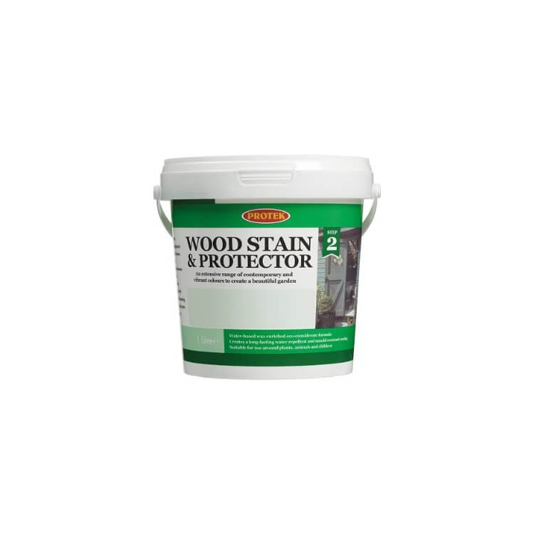 Protek Wood Stain and Protector 1ltr