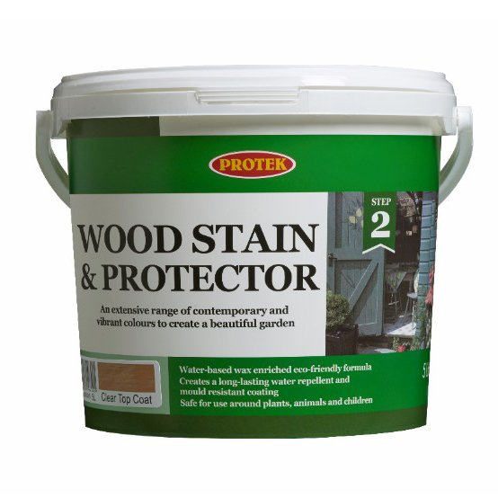 Protek Wood Stain and Protector 5ltr