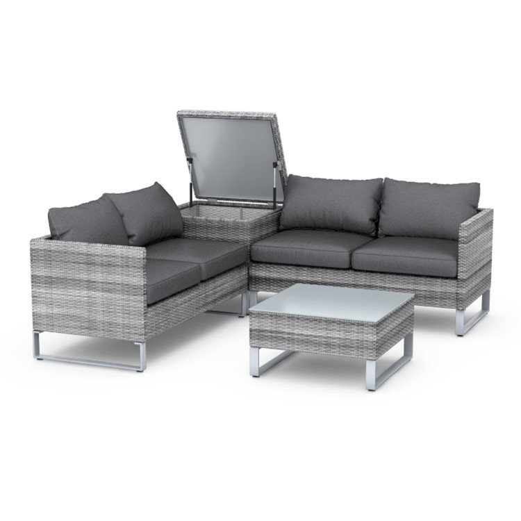 Better Homes And Gardens Replacement Cushions Azalea Ridge, Rattan Outdoor Corner Sofa Set With Storage Billyoh Salerno