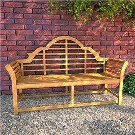 BillyOh Windsor 3 Seater Lutyens Wooden Garden Bench