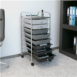 BillyOh 8 Drawer Plastic Trolley