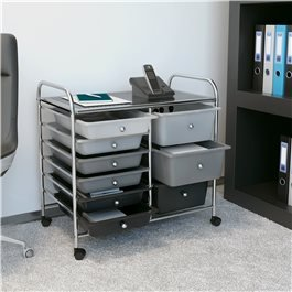 BillyOh 9 Drawer Plastic Storage Trolley