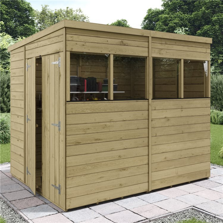 BillyOh Switch Tongue and Groove Pent Shed
