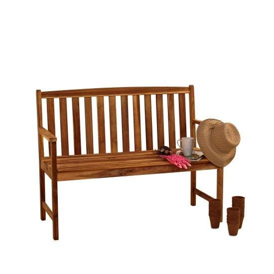 Alexander Rose Acacia Bench 4ft