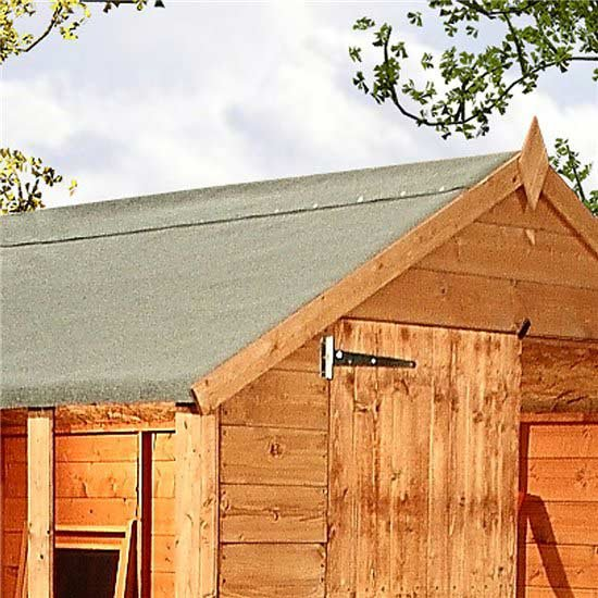 Green Mineral Shed Roofing Felt