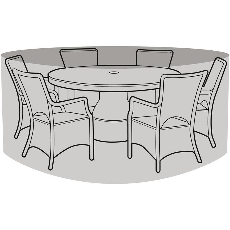 Garland Luxury 6 Seater Round Set Cover