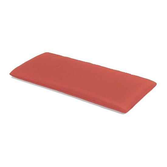 The CC Collection - 2 Seat Garden Bench Cushion - Terracotta
