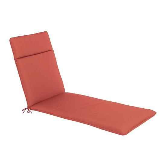 The CC Collection - Garden Lounger Cushion - Terracotta
