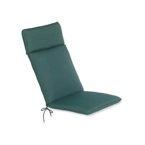 The CC Collection - Garden Cushions - Recliner Cushion - Green