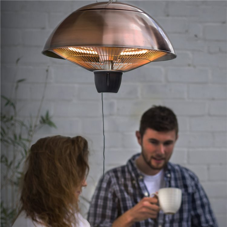 BillyOh Copper Hanging Heat Lamp