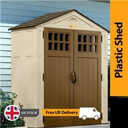 Suncast Adlington Five Plastic Storage Shed