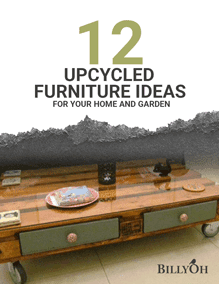 12 Upcycled Furniture Ideas for your Home and Garden