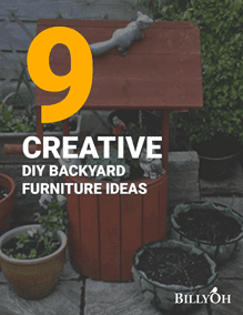 9 Creative DIY Backyard Furniture Ideas