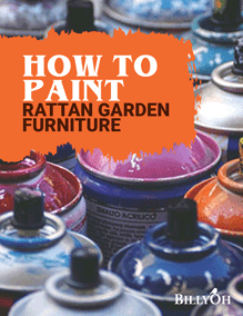 How to Paint Rattan Garden Furniture
